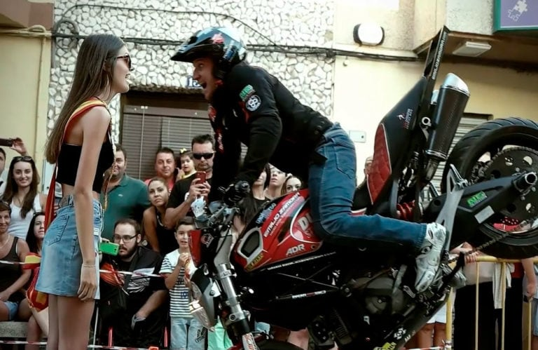Emilio Zamora Ducati Stunt Team – Casasimarro