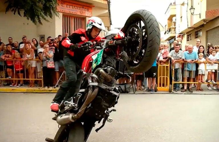 EmilioZamora Ducati Stunt Team – Casasimarro 2018