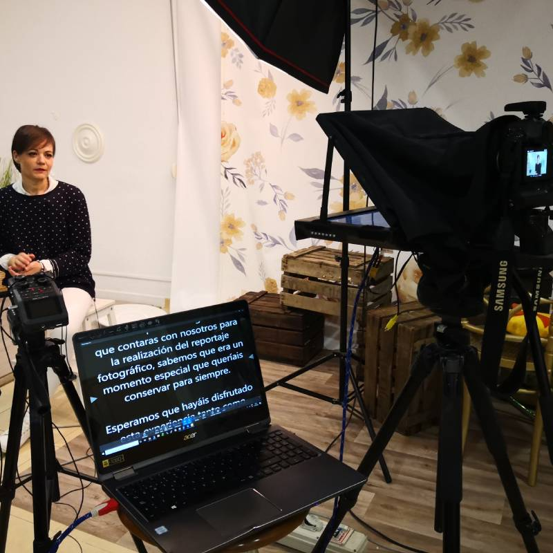 productora audiovisual teleprompter
