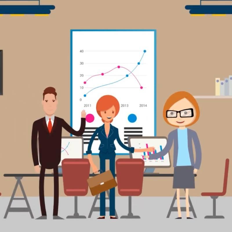 productora audiovisual vídeo animado